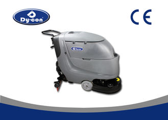 Commercial Compact Floor Scrubber Cleaning Machine Electric Wired Heavy Duty