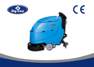 Automatic Compact Floor Scrubber Machine , Commercial Floor Cleaning Equipment